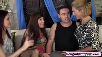 milf blowjob ghetto Carly parker and friend go down on some lucky guy