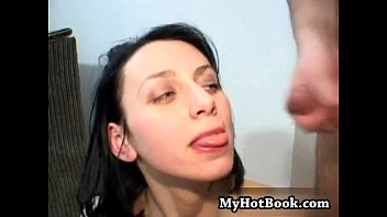 have son and sex Hot babe playing her pussy with a dildo