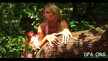 dutch woods defloration in Eva angelina spit