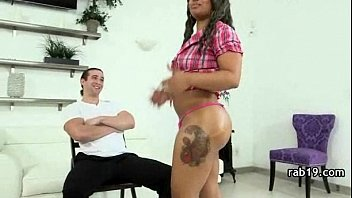 pounding dick with black big guy amateur nympho She takes his blue shirt off