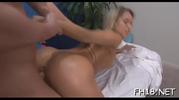good fuck during massage her 18 year old double dildo